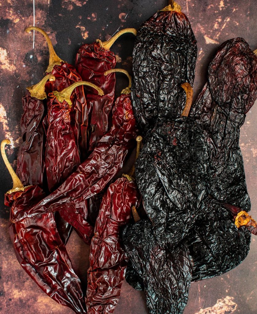 dried chilies