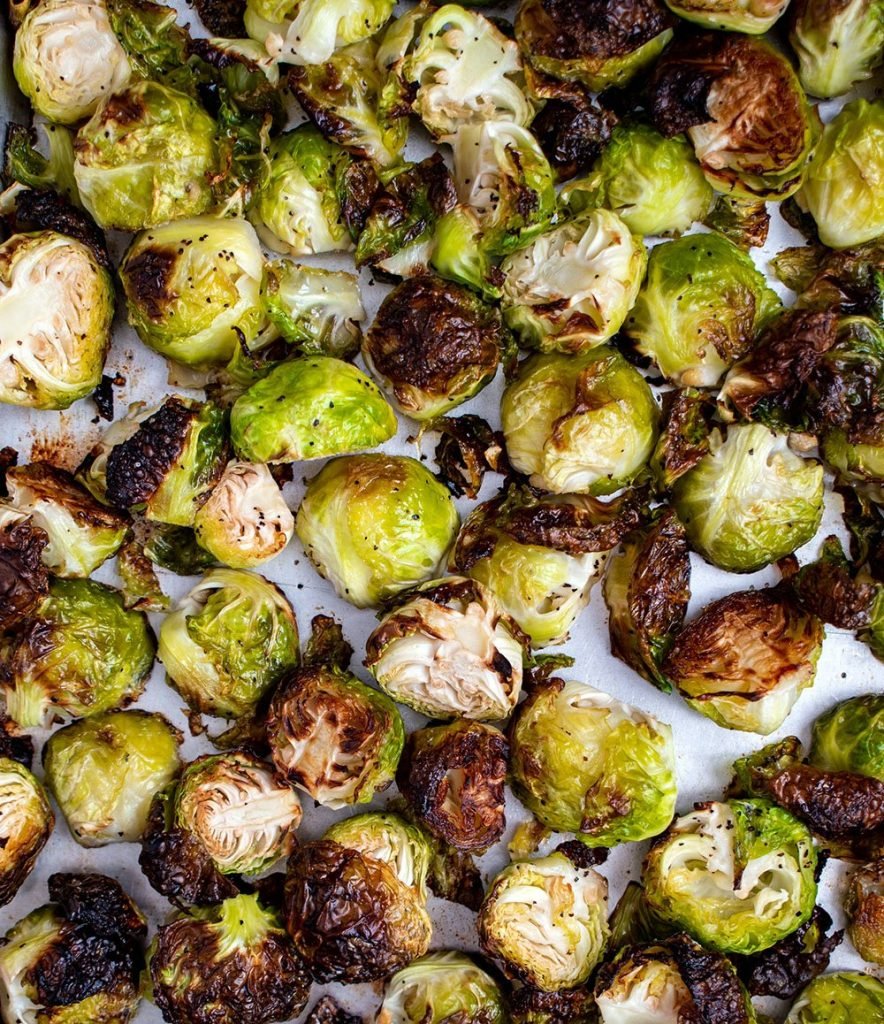 cooked brussels sprouts