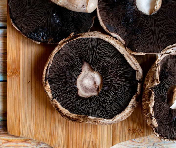 remove gill from mushrooms