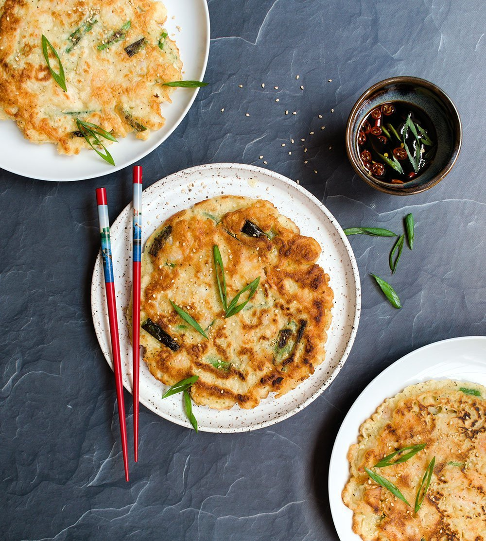 seafood scallion pancake