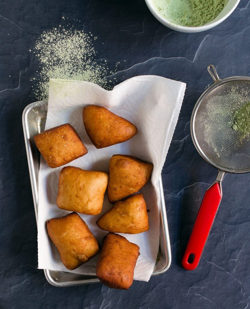 fried beignets