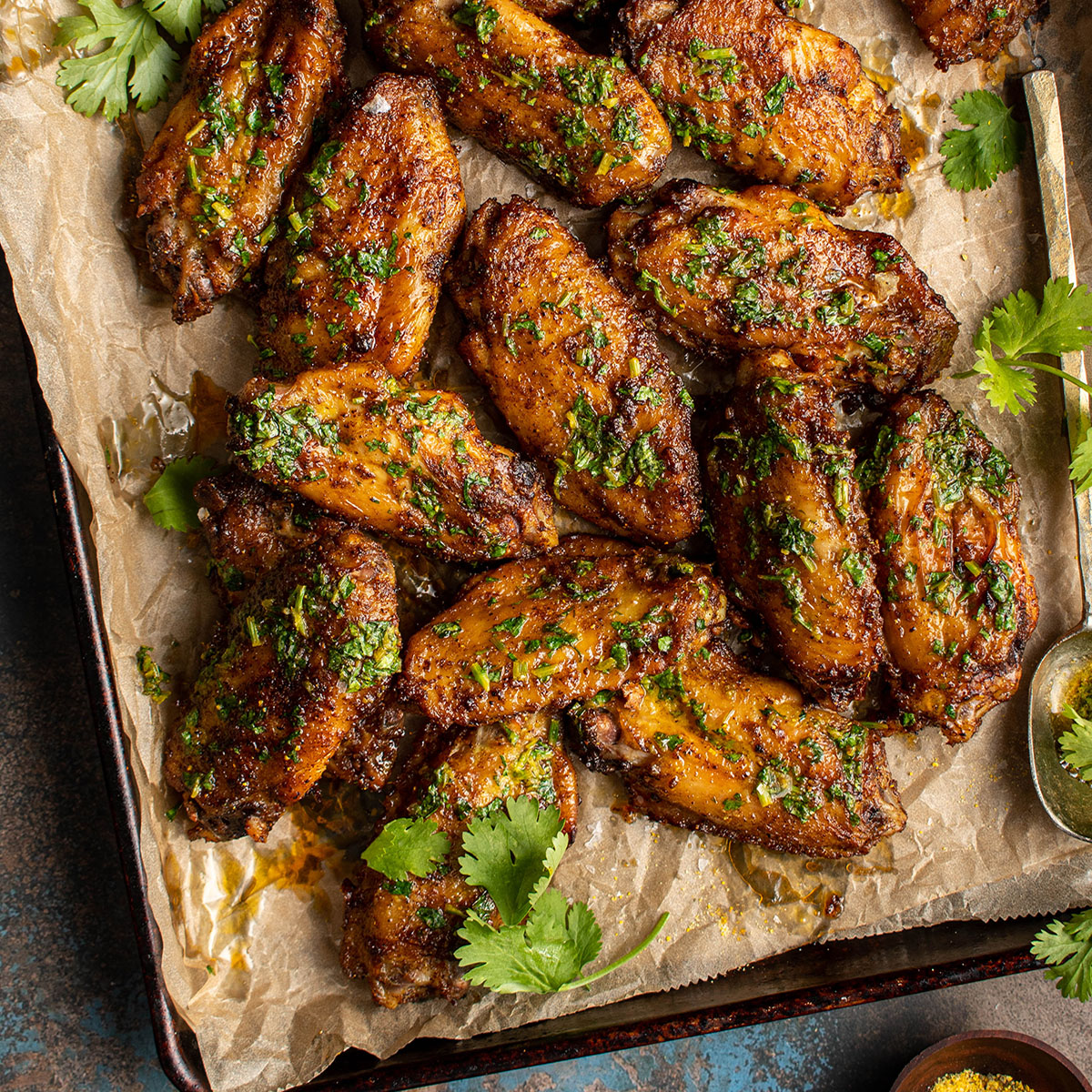 indian butter chicken wings
