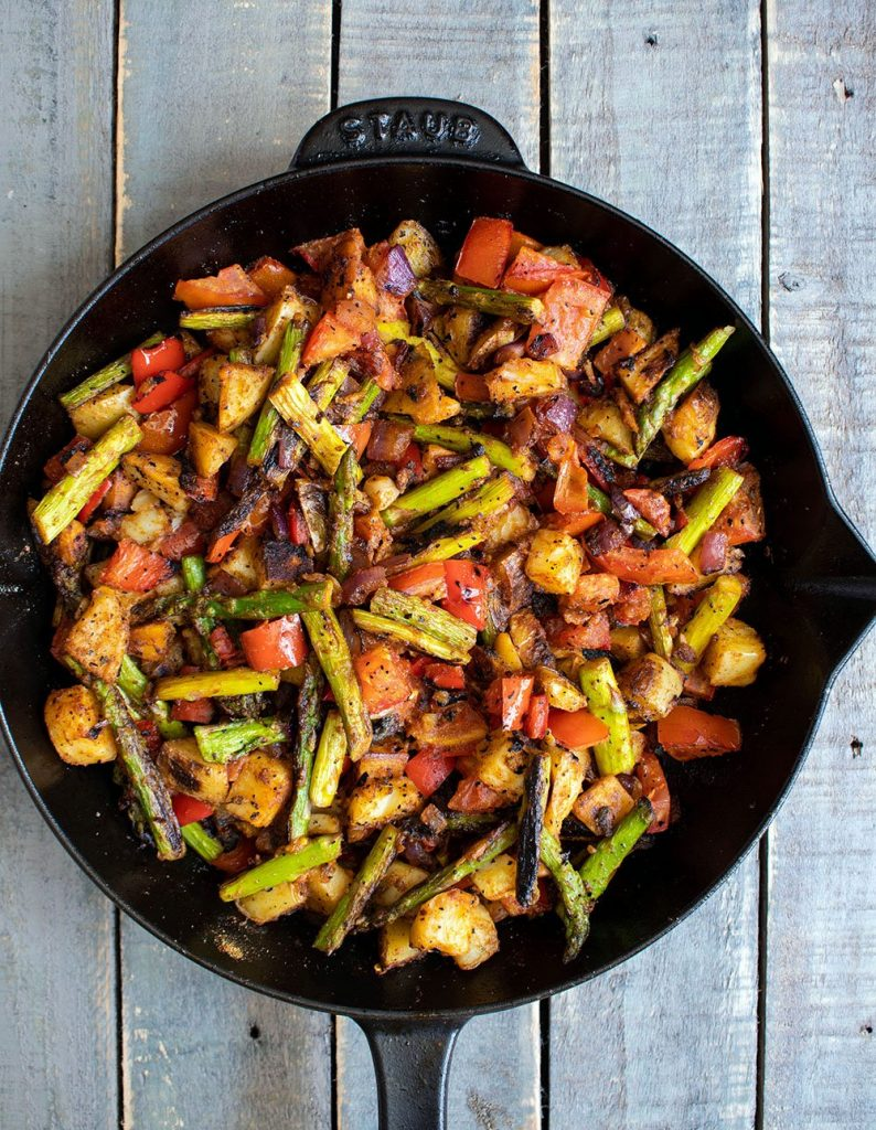 spiced sauteed vegetables