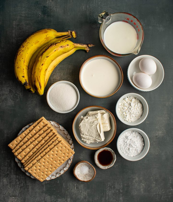 ingredients for the pudding
