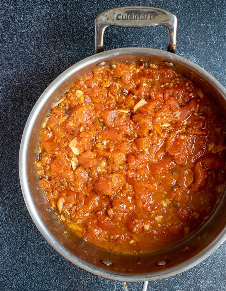 simmer sauce for 30 minutes