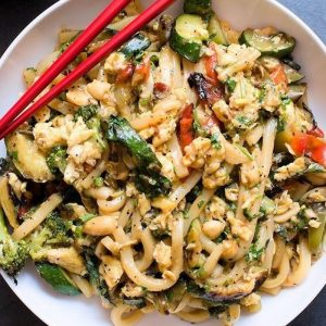 Sweet and Spicy Thai Noodles