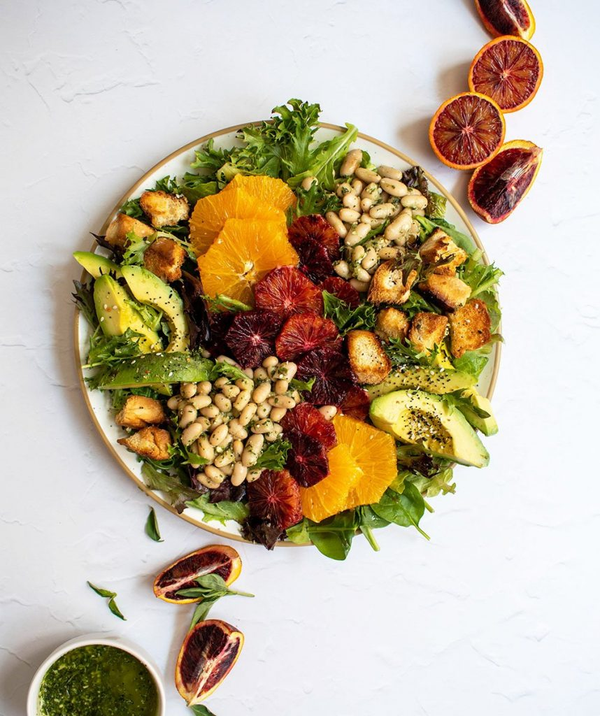 everything spiced salad