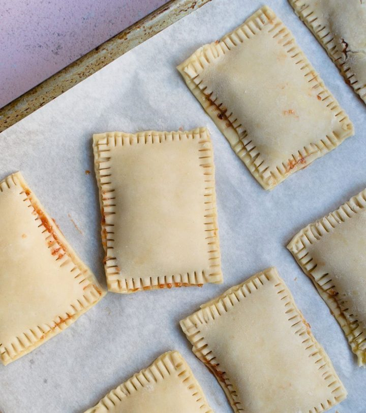 form and chill the pop tarts before baking