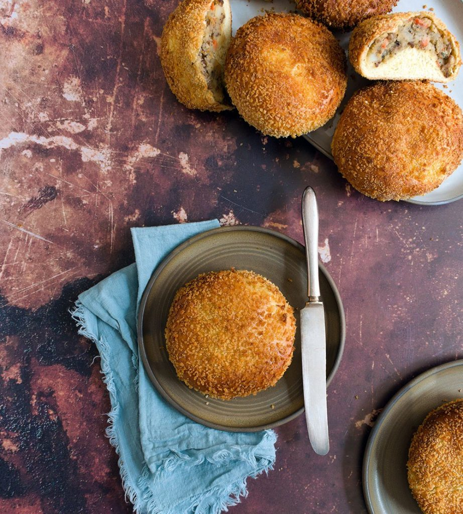 korean croquette bread