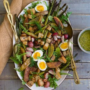 Roasted Potato and Egg Salad