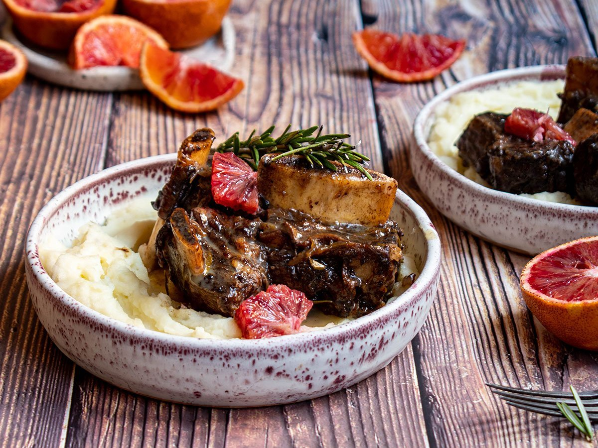 balsamic blood orange braised short ribs