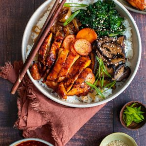 Korean Spicy Chicken Bowl