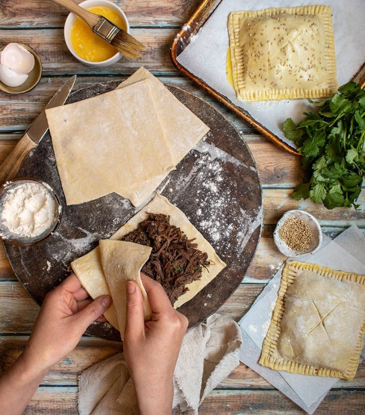 assemble the hand pies