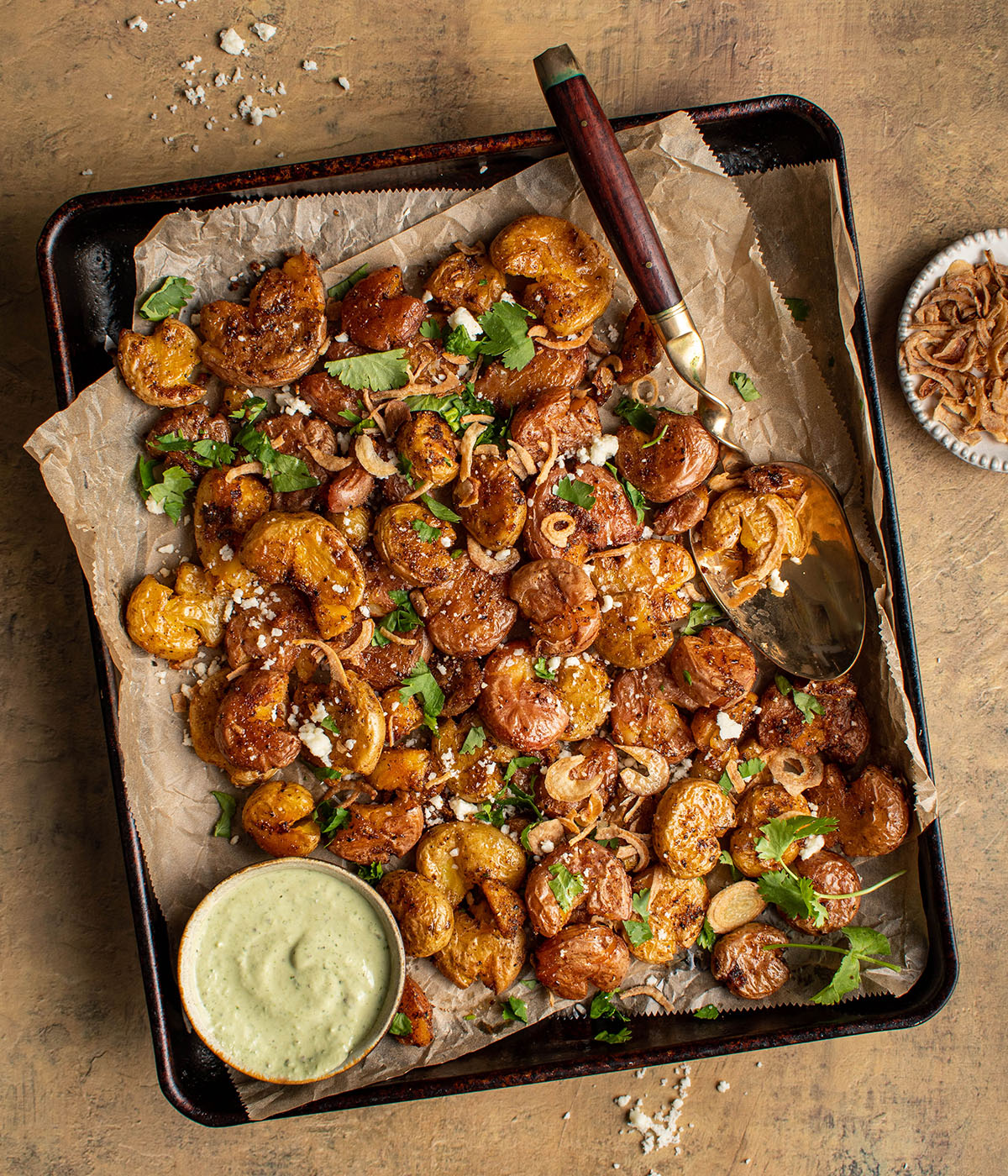 mexican smashed potatoes