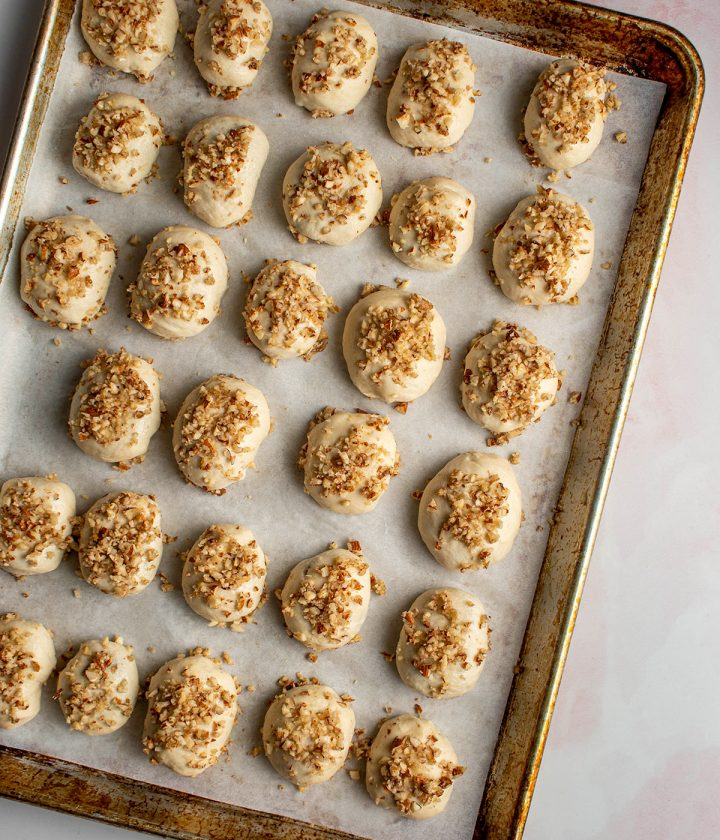 top with almond butter mixture
