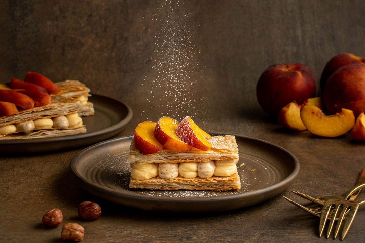 assemble the millefeuille